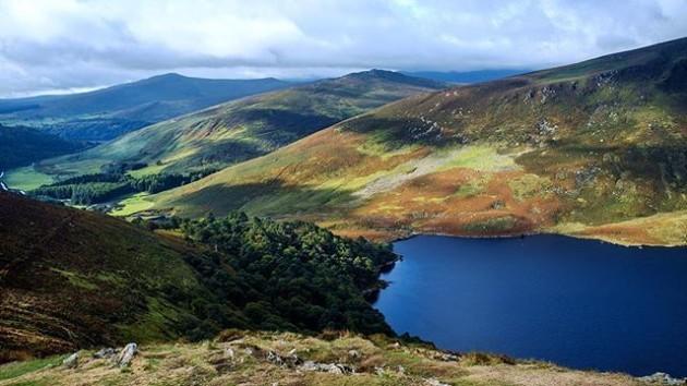 Ireland. #ireland #wicklow #landscape