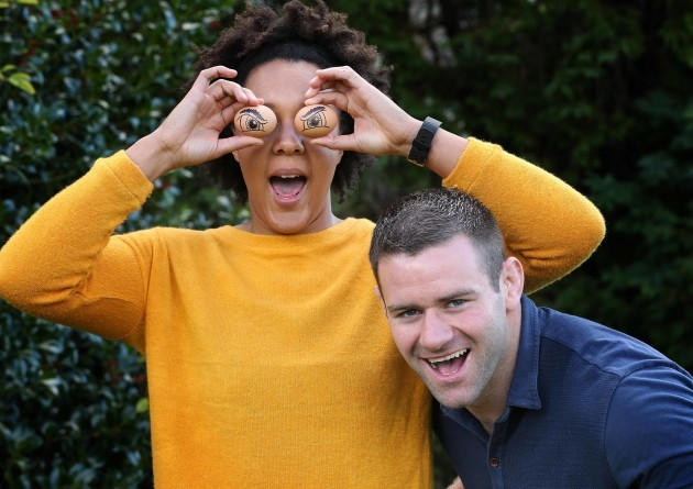 Sophie Spence and Fergus McFadden