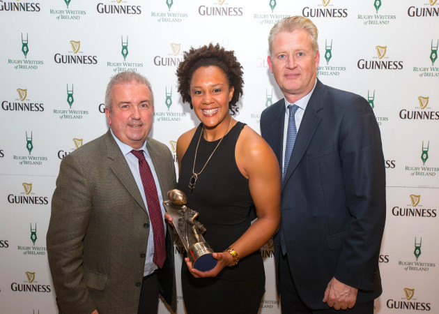 Michael Corcoran, Sophie Spence and Peter O'Brien