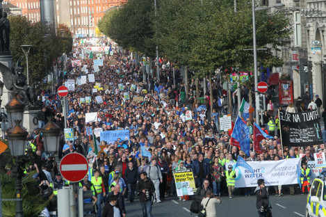 National Water Protest - Against Water