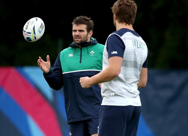 Jared Payne and Iain Henderson