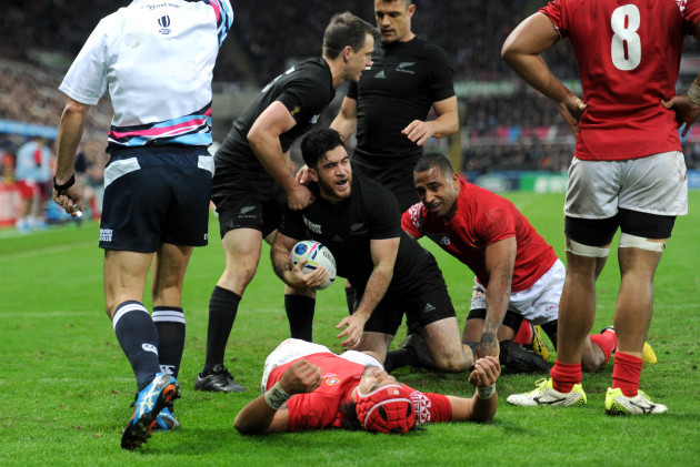 Rugby Union - Rugby World Cup 2015 - Pool C - New Zealand v Tonga - St James' Park