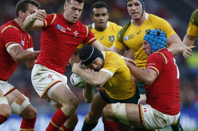 Britain Rugby WCup Australia Wales