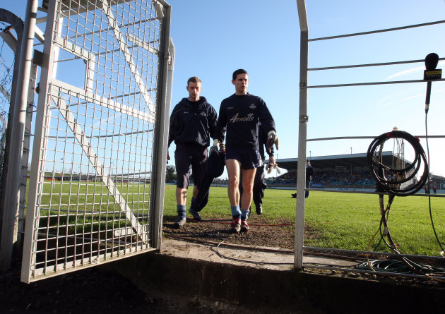 John Leonard and Stephen Cluxton  27/1/2008