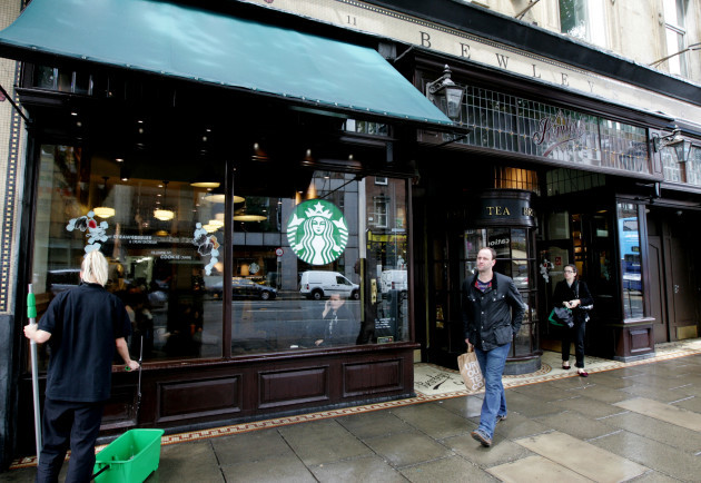 2/7/2012. Starbucks Moves Into Bewleys
