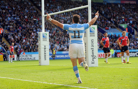 Britain Rugby WCup Argentina Namibia