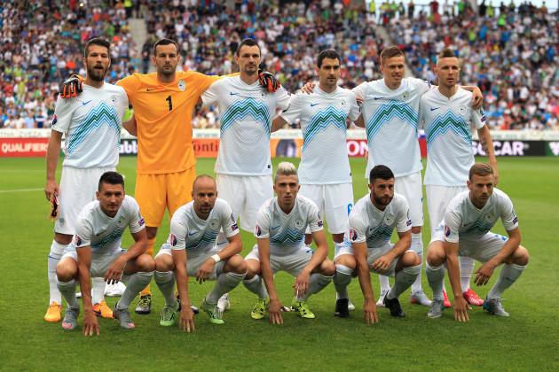Soccer - UEFA European Championship Qualifying - Group E - Slovenia v England - Stozice Stadium