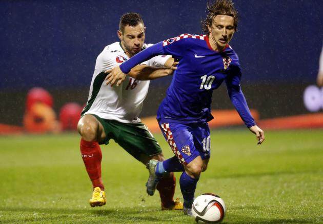 Croatia Bulgaria Euro Soccer