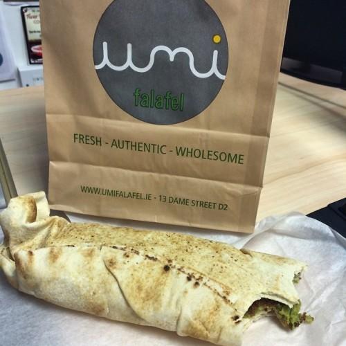 Such yum #falafel #lunch #tasty #delicious #yum #umifalafel #Dublin