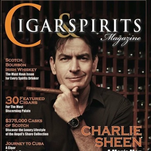 That time.... @bobmaron and I did an interview for @cigarandspiritsmagpublisher and @cigarandspiritsmagazine