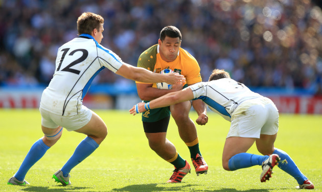 Rugby Union - Rugby World Cup 2015 - Pool A - Australia v Uruguay - Villa Park