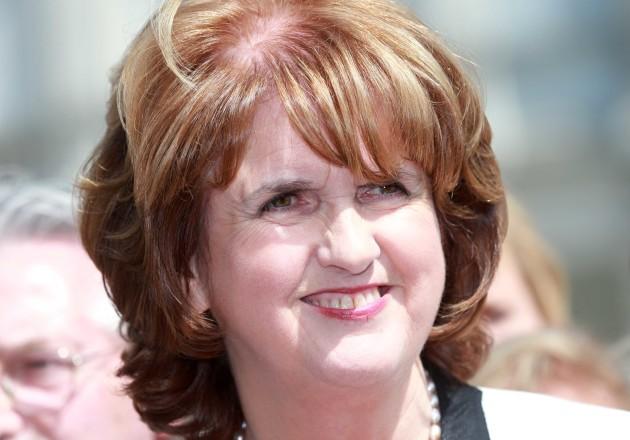 Joan Burton Labour leadership bid. Lab