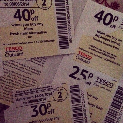 Day 12 #100happydays must be getting old got excited by #tescocoupons
