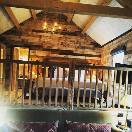 My home for the eve... So beautiful ... #sohofarmhouse