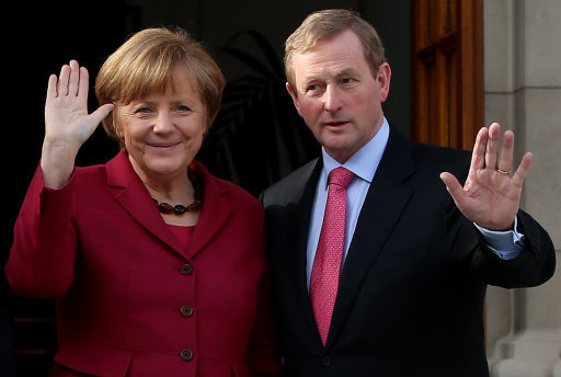 Merkel visit to Dublin