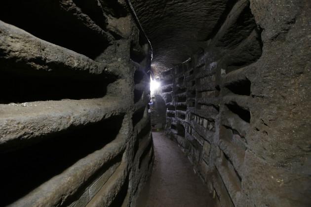 Italy Catacombs