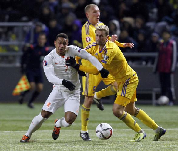 Kazakhstan Netherlands Euro Soccer