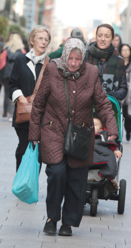 13/10/2015 Budget 2016. Pictured is anelderly