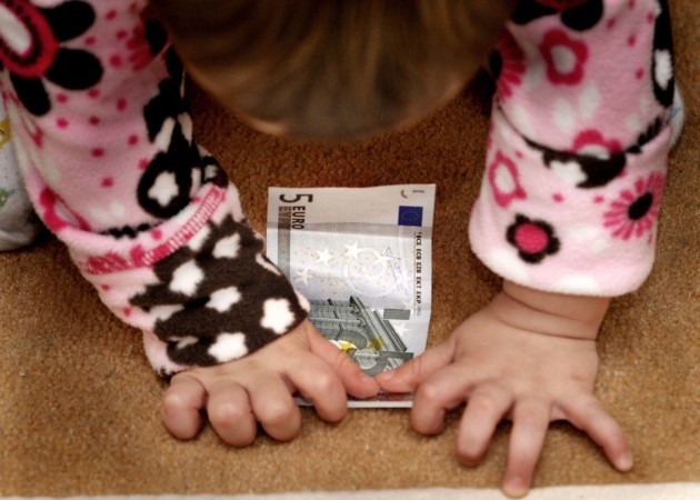 File Photo Child Benefit to raise to 140 euro a month.