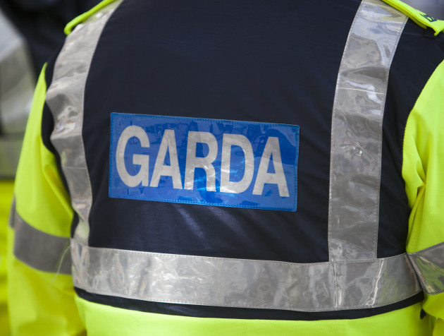 13/10/2015 Budget 2016. Pictured is a Garda in Dub
