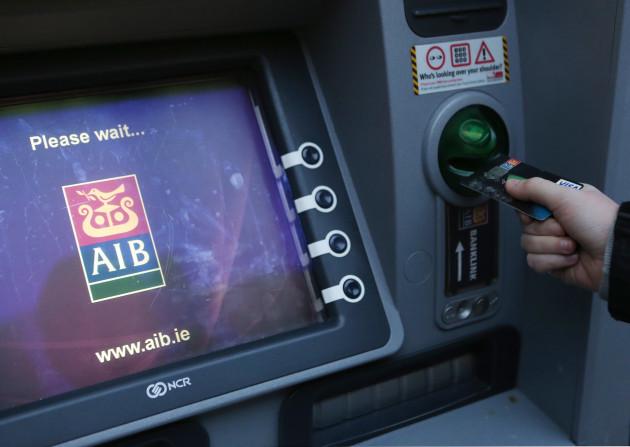 20/12/2013. AIB debit card Problems. Pictured a yo
