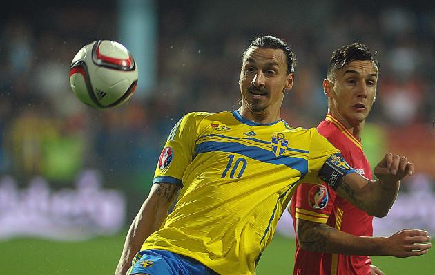 Montenegro Sweden Euro Soccer