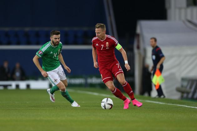 Soccer - UEFA European Championship Qualifying - Group F - Northern Ireland v Hungary - Windsor Park