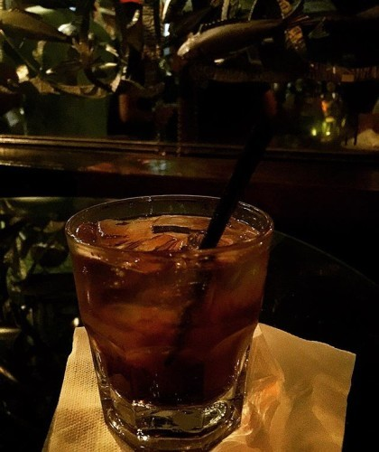 Ordered a Jameson (whiskey) and coke, and viola...just like that...met #Treg of @thirstythursdayssd !