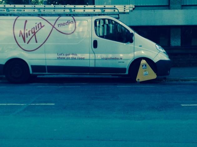 Virgin Media van