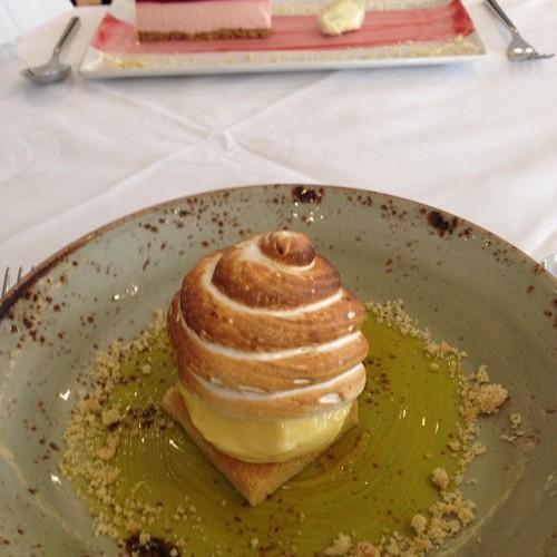 Best dessert ever! Lemon meringue Alaska #zuni #nofilter #dessert