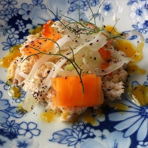 Crab mayonnese :) #happybirthday #birthday #dublin #visitdublin #irelan #michelin #food #foodporn #pornfood #foodlover #fish