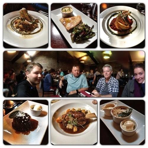 Another fabulous Ireland dinner. #internationaltraveling #yum I had the Nut Roast (the veggie dish). Awesome!!!
