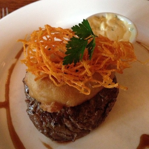 Prime Irish 8 oz Filet of steak with garlic butter