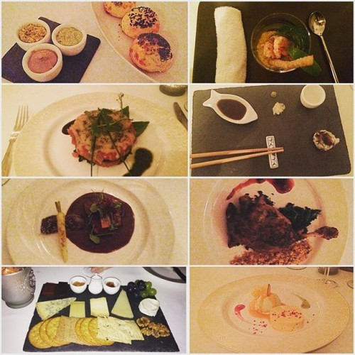Absolutely fabulous meal at Sabor Brazil. Meeeeeoww. Seven courses in heaven