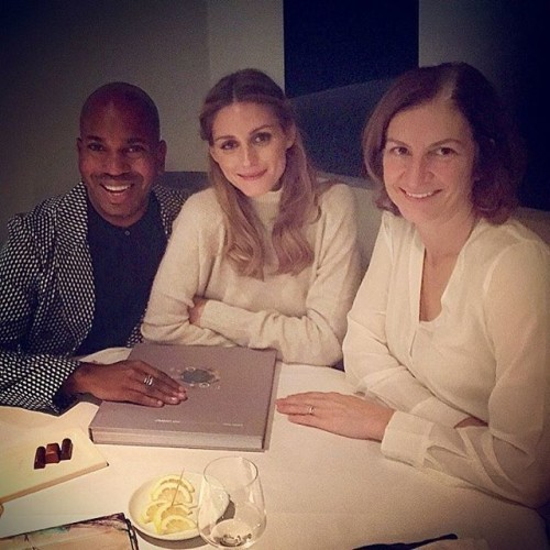 Dinner time at #ChapterOne with #KarenDiamond and @oliviapalermo . Great food and atmosphere!