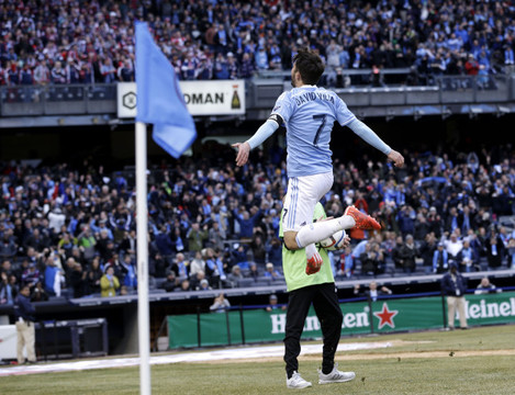 MLS Revolution New York City FC Soccer