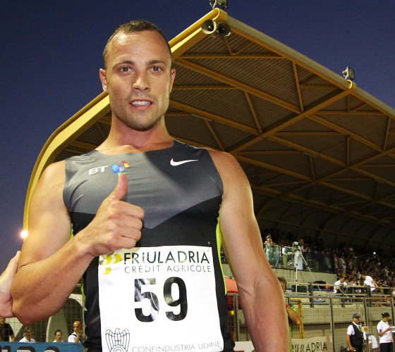 Italy Pistorius Final Steps