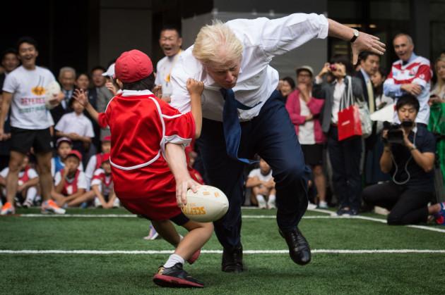 Boris Johnson visit to Japan - Day Four