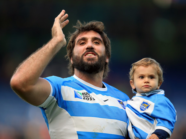 Rugby Union - Rugby World Cup 2015 - Pool C - Argentina v Namibia - Leicester City Stadium