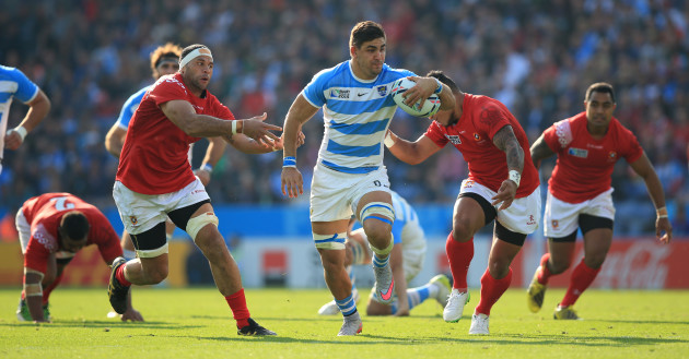 Rugby Union - Rugby World Cup 2015 - Pool C - Argentina v Tonga - Leicester City Stadium