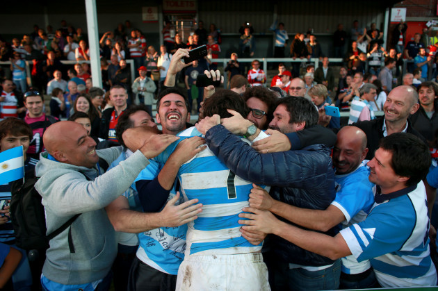 Rugby Union - Rugby World Cup 2015 - Pool C - Argentina v Georgia - Kingsholm Stadium