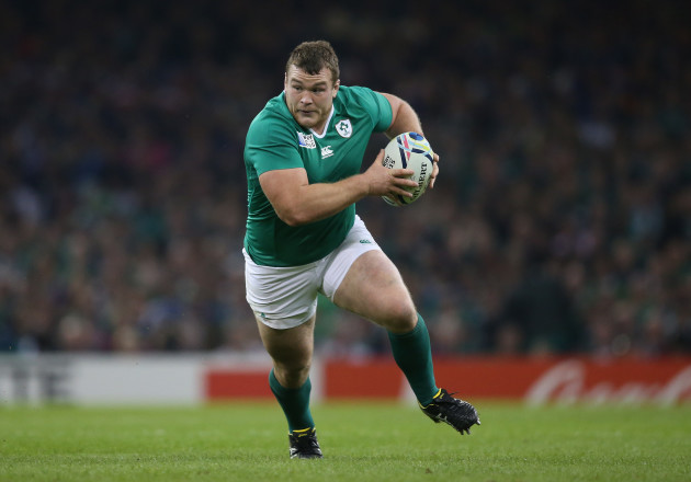 Ireland's Jack McGrath