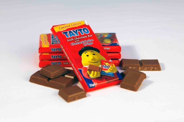 Tayto Cheese and Onion Milk Chocolate - Low Res