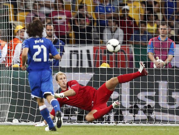 Soccer Euro 2012 England Italy