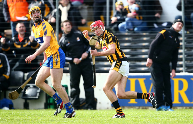Cillian Buckley scores the winning point