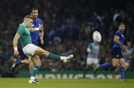 Britain Rugby WCup France Ireland
