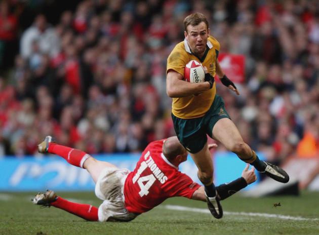 Rugby Union - International match - Wales v Australia - Millennium Stadium