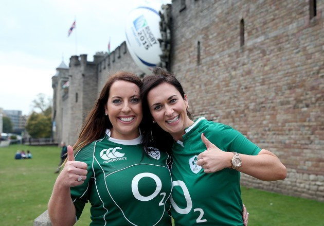 Yvonne O'Brien and Sarah Quillinan