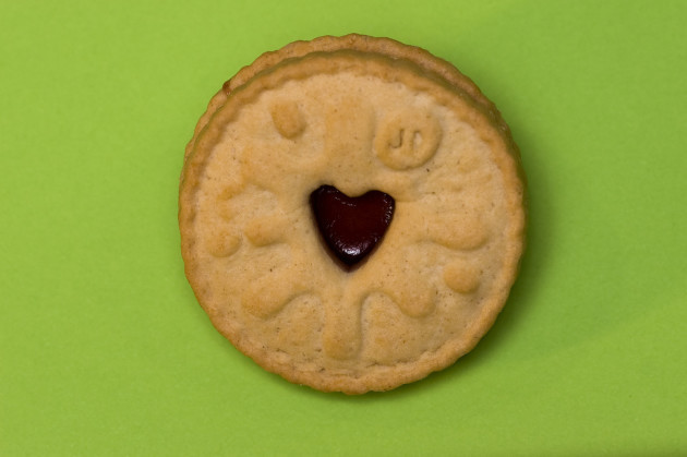Biscuit: Green Jammy Dodger