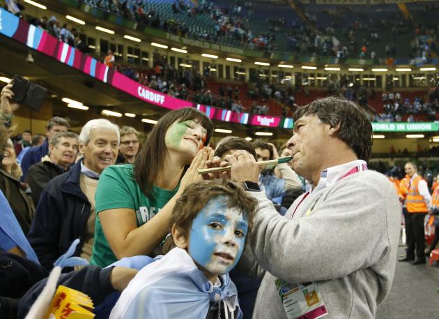 Britain Rugby WCup Ireland Argentina